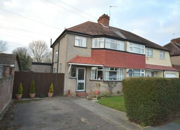 Thumbnail 4 bed semi-detached house for sale in Derek Avenue, West Ewell, Epsom
