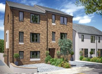 Thumbnail 4 bed town house for sale in Boslowen, Dolcath Avenue, Camborne