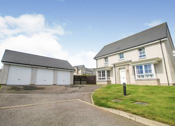 Thumbnail 4 bed detached house for sale in Oldmeldrum Road, Inverurie
