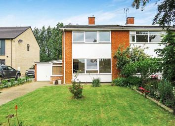 Thumbnail 3 bed semi-detached house for sale in Greenfields, St. Ives, Huntingdon