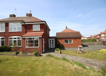 Thumbnail 3 bed semi-detached house for sale in Dawson Avenue, Crossens, Southport