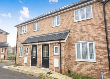 Thumbnail 3 bed terraced house for sale in Cutters Close, Beck Row, Bury St. Edmunds