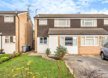 Thumbnail 3 bed semi-detached house for sale in Hanborough Close, Eynsham, Witney