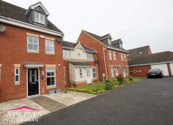 Thumbnail 3 bed town house for sale in Jewsbury Way, Thorpe Astley