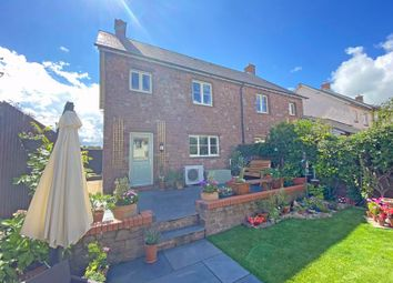 Thumbnail 3 bed semi-detached house for sale in Meadow Close, Wheddon Cross, Minehead