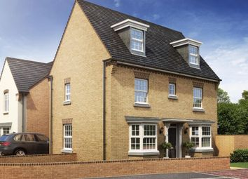 "Thumbnail 4 bedroom detached house for sale in ""Hertford"" at Fen Street, Brooklands, Milton Keynes"