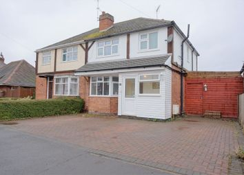 Thumbnail 3 bed semi-detached house for sale in Holmfield Avenue West, Leicester Forest East