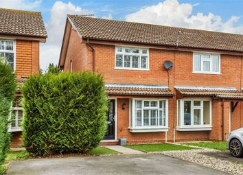 Thumbnail 2 bed end terrace house for sale in Spicer Close, Walton-On-Thames, Surrey