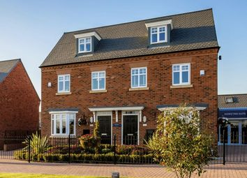 "Thumbnail 3 bedroom semi-detached house for sale in ""Kennett"" at Blenheim Close, Stafford"