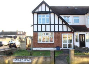 Thumbnail 3 bed end terrace house for sale in Headley Drive, Ilford