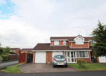 Thumbnail 4 bed detached house to rent in Elmwood Avenue, Essington, Wolverhampton