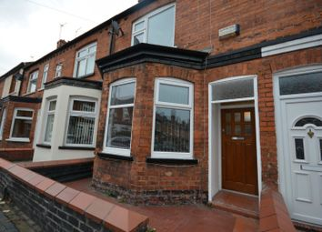 Thumbnail 2 bed terraced house to rent in Lord Street, Crewe