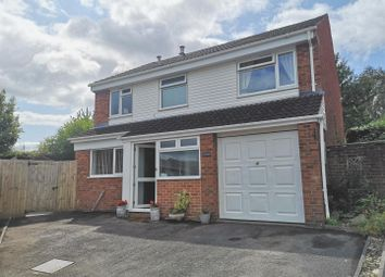 Thumbnail 4 bed detached house to rent in Oak Crescent, Woolaston, Lydney
