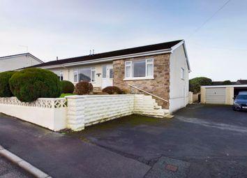 Thumbnail 3 bed semi-detached bungalow for sale in St. Anne's Avenue, Cwmffrwd, Carmarthen