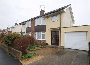 Thumbnail 3 bedroom semi-detached house for sale in Church Leaze, Shirehampton, Bristol