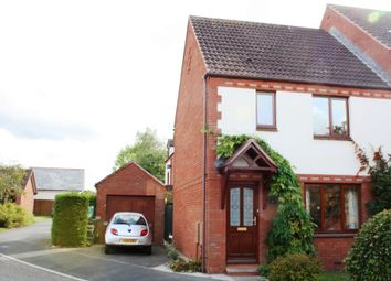 Thumbnail 3 bed end terrace house to rent in Slewton Crescent, Whimple, Exeter
