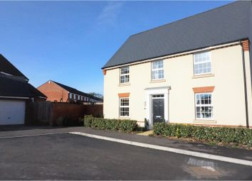 Thumbnail 4 bed detached house for sale in Port Stanley Close, Taunton