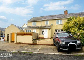 Thumbnail 4 bed semi-detached house for sale in Stranraer Avenue, Pennar, Pembroke Dock, Pembrokeshire