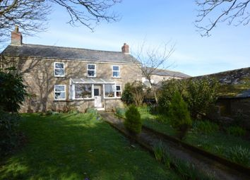 Thumbnail 4 bed detached house for sale in Newbridge, Penzance, Cornwall