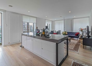Thumbnail 3 bed flat to rent in Kelson House, Royal Wharf, London