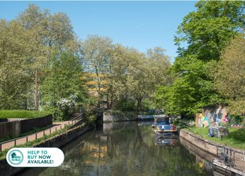 Thumbnail 3 bed property for sale in Hunts Wharf, Leaside Road, Upper Clapton, London