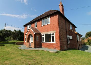 Thumbnail 4 bed detached house to rent in Holyhead Road, Montford Bridge, Shrewsbury