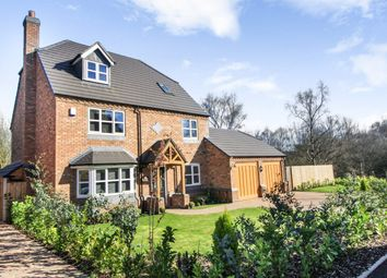 Thumbnail 5 bed detached house for sale in New Hayes Park, New Hayes Road, Cannock