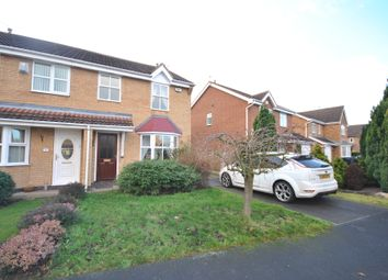 Thumbnail 3 bed semi-detached house for sale in Merlin Close, Adwick Le Street, Doncaster