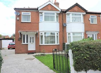 Thumbnail 3 bed semi-detached house for sale in Hemmons Road, Longsight, Manchester