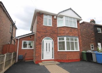 Thumbnail 3 bed detached house for sale in Mansfield Road, Urmston, Manchester