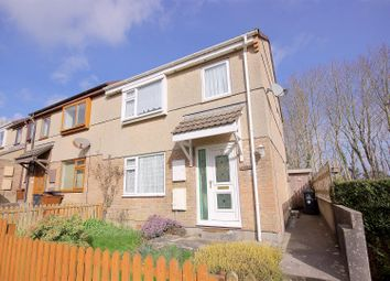 Thumbnail 3 bed end terrace house for sale in Rockwood Road, Woolwell, Plymouth