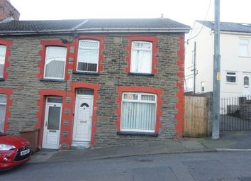 Thumbnail 3 bed end terrace house for sale in St Gwladys Avenue, Bargoed