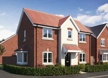 Thumbnail 3 bed detached house for sale in Gateway Avenue, Newcastle Under Lyme, Staffordshire