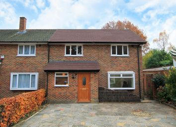 Thumbnail 3 bed semi-detached house to rent in Windsor Way, Woking