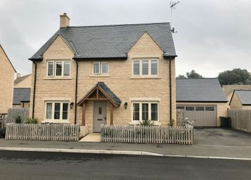 Thumbnail 4 bed detached house for sale in Nightingale Way, South Cerney, Cirencester