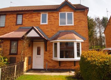 Thumbnail 3 bed semi-detached house to rent in John Clare Court, Kettering