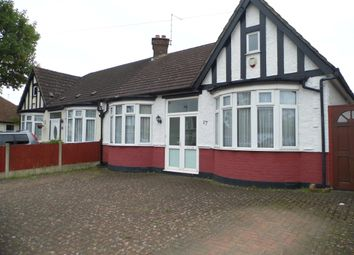 Thumbnail 2 bed bungalow for sale in Manor Way, Bush Hill Park