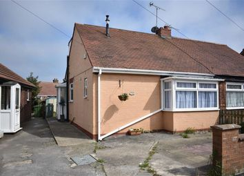 Thumbnail 2 bed semi-detached bungalow for sale in Bempton Oval, Bridlington