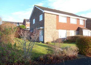 Thumbnail 3 bedroom semi-detached house for sale in Kilmiston Drive, Fareham
