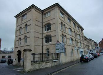 Thumbnail 1 bed flat to rent in Beaufort Mansions, 55-57 Stallard Street, Trowbridge