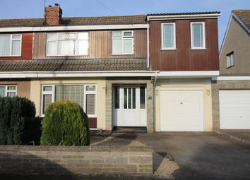 Thumbnail 4 bedroom semi-detached house for sale in Park Road, Congresbury, Bristol