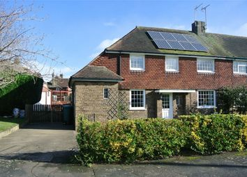 Thumbnail 3 bed semi-detached house for sale in The Crescent, Morton, Bourne, Lincolnshire
