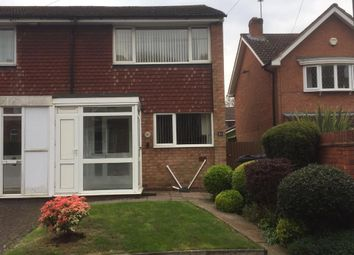Thumbnail 2 bed end terrace house to rent in Victoria Road, Harborne, Birmingham