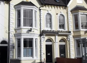 Thumbnail 1 bed flat to rent in Bath Street Flat 3, Rhyl, Denbighshire