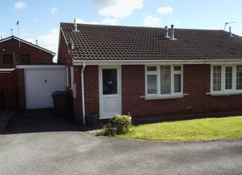 Thumbnail 2 bedroom semi-detached bungalow to rent in Britannia Drive, Stretton, Burton-On-Trent