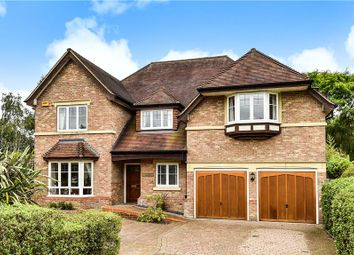Thumbnail 6 bedroom detached house for sale in Chapel Lane, Bagshot, Surrey