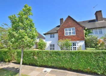 Thumbnail 3 bedroom semi-detached house to rent in Brookland Rise, Hampstead Garden Suburb