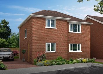 Thumbnail 3 bed detached house for sale in Marrowbrook Close, Farnborough