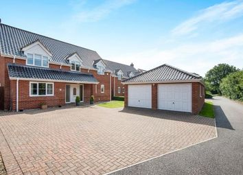 Thumbnail 4 bed detached house for sale in Thorpe End, Norwich, Norfolk