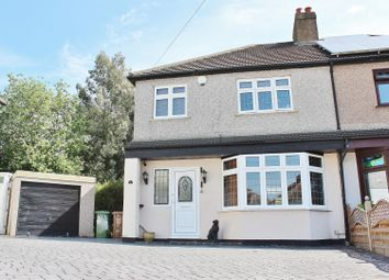 Thumbnail 3 bed semi-detached house for sale in Ruskin Grove, Welling, Kent
